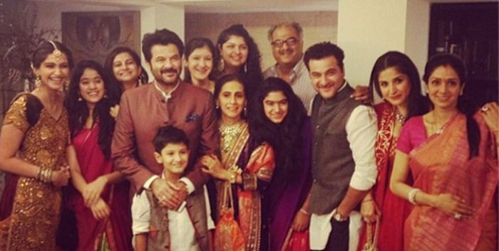 Sonam Kapoor family