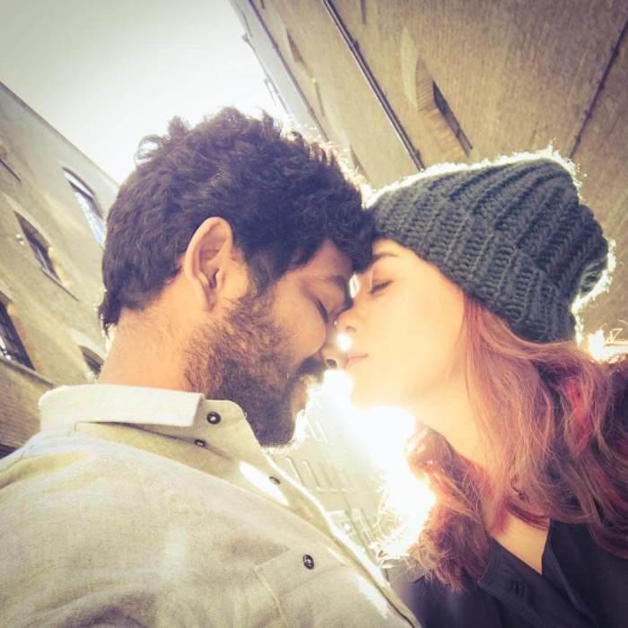 Nayanthara and Vignesh Shivan Valentines day Photos