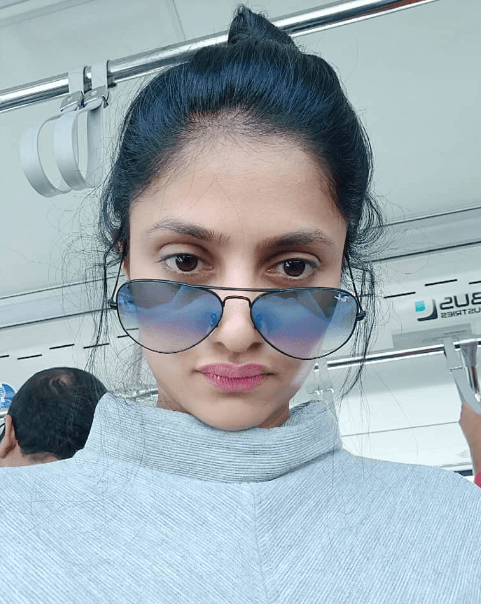 Actress Shalini Vadnikatti