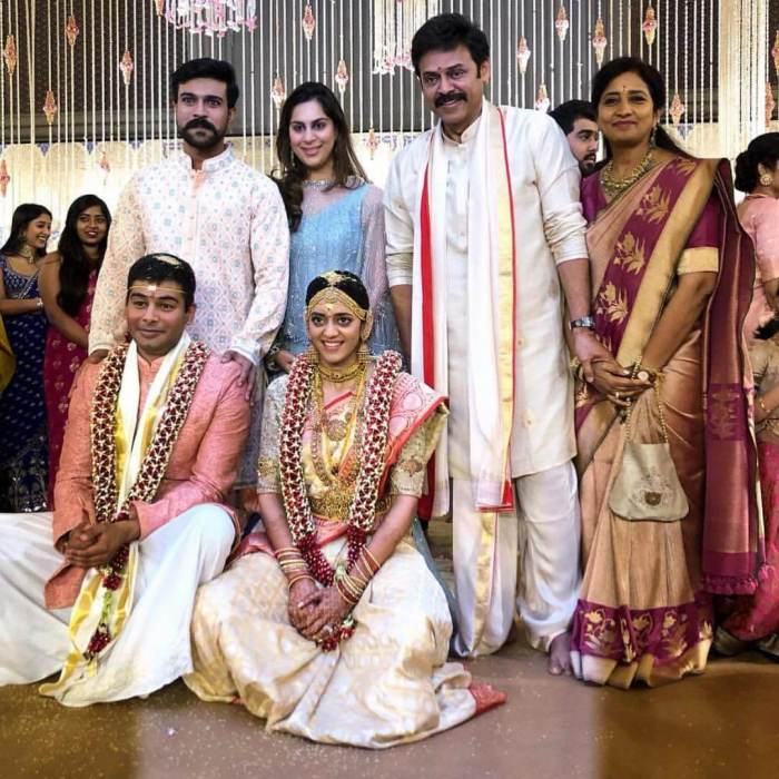 Daggubati Venkatesh Daughter Aashritha Daggubati Wedding Stills