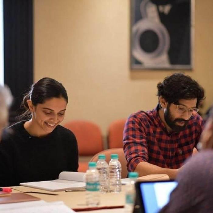 Vikrant Massey and Deepika Padukone