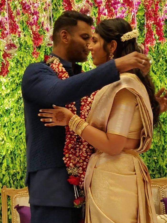 Vishal Anisha All Reddy Marriage Images