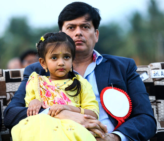 Andy Srinivasan daughter Vidya Nirvana