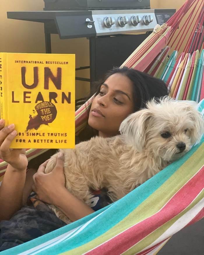 Lilly Singh Dog