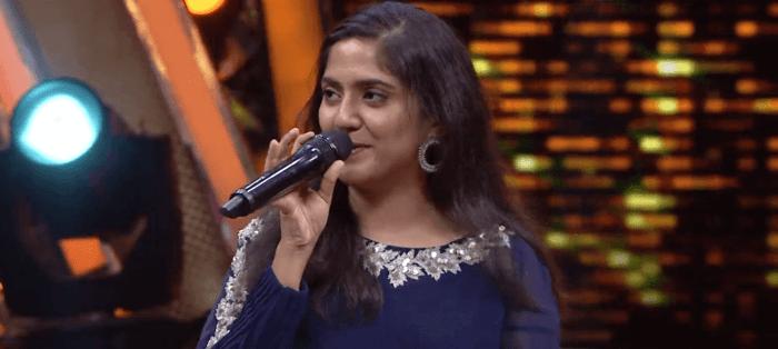 Sahana Super Singer Image