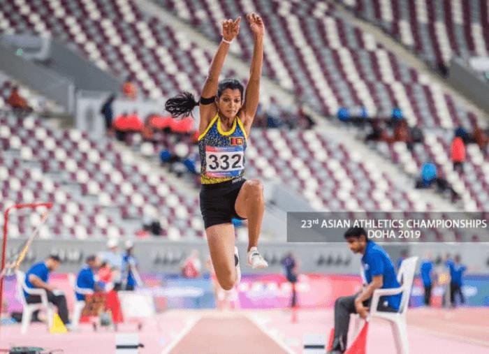 Vidusha Lakshani Triple Jumper
