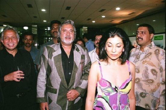 Vijay Mallya Wife Rekha Mallaya