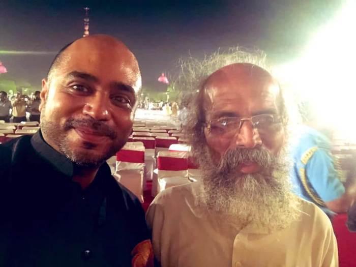 Abhijit Iyer-Mitra With Pratap Chandra Sarangi