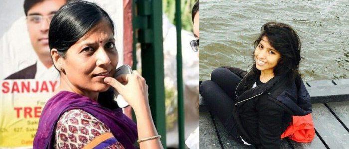 Harshita Kejriwal Mother Arvind Kejriwal