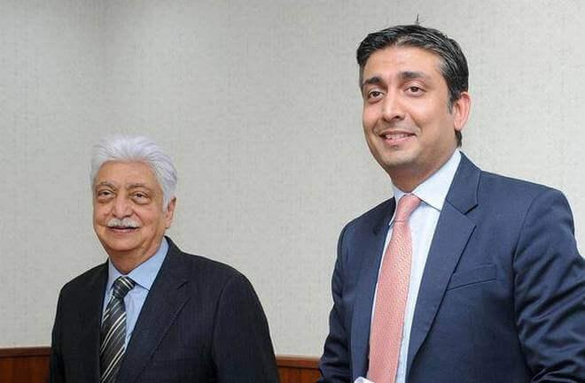 Rishad Premji Father Azim Premji