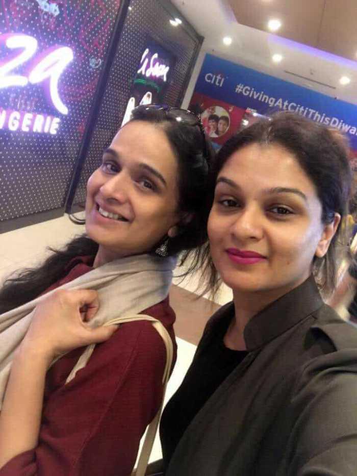 Shivangi Kapoor Sister Tejaswini Kolhapure