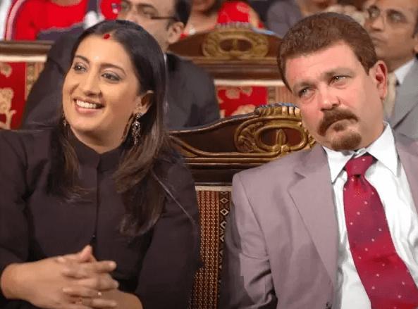 Smriti Irani Husband Zubin Irani