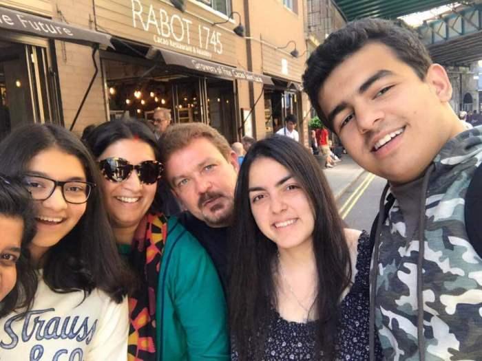 Zubin Irani Family