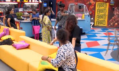 Battle between Tharsan and Vanitha
