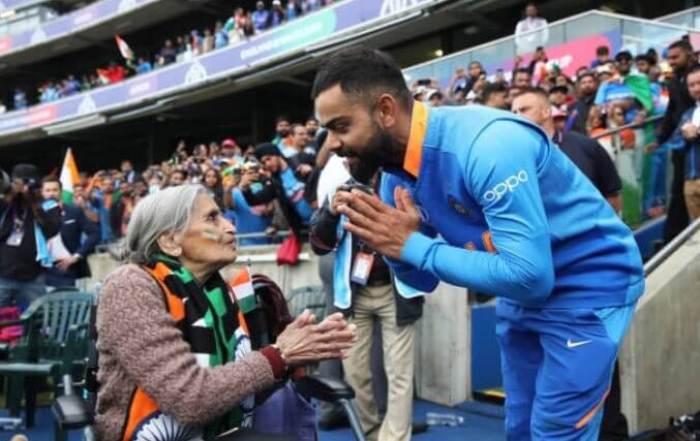 Charulatha Patel Virat kohli