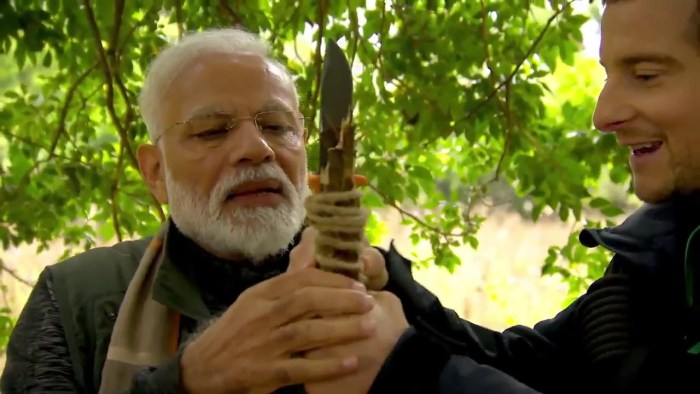 Narendra Modi 'Man vs Wild' Episode