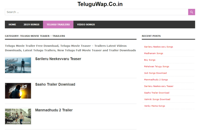 TeluguWap Movies Download