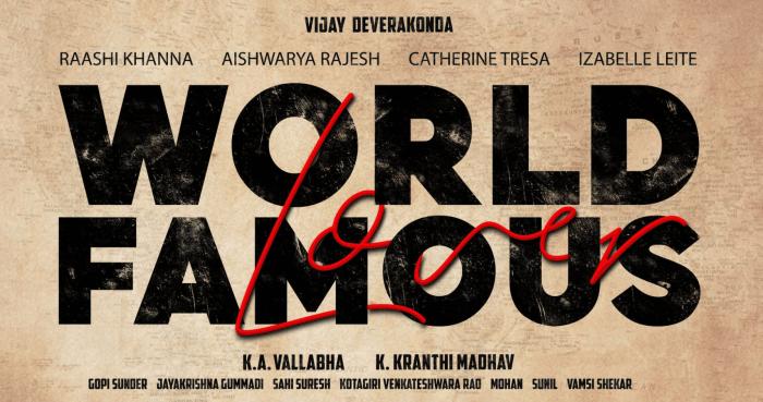 World Famous Lover Telugu Movie