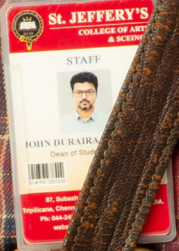 Vijay as John Durairaj JD in Master