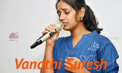 Vanathi Suresh super singer