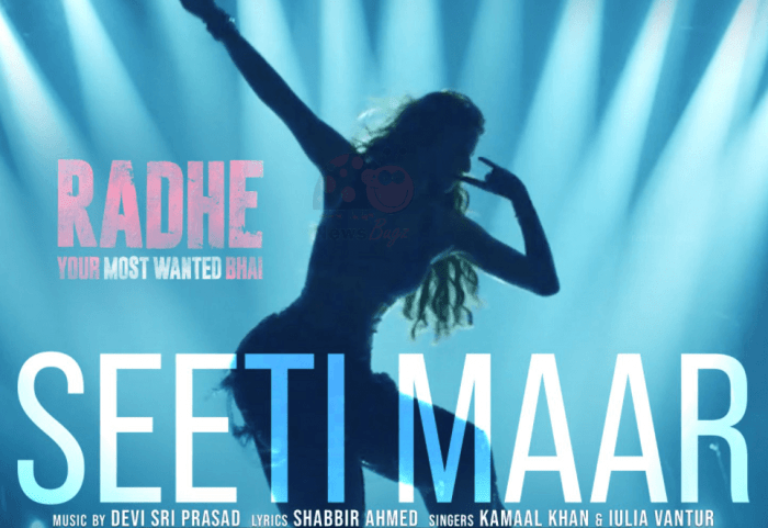 Seeti Maar Song From Radhe: Watch Full Video