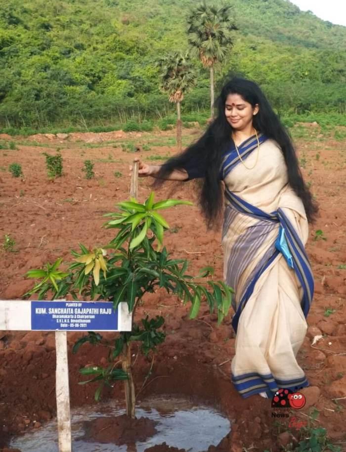 Sanchaita Gajapathi Raju