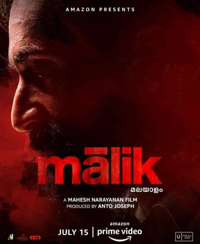 Watch Malik Movie (2021) on Amazon Prime Video   Fahadh Faasil