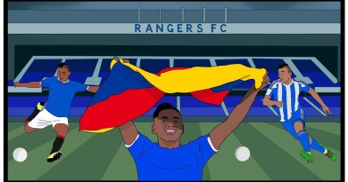 How Rangers' Firebrand Alfredo Morelos is Changing Lives
