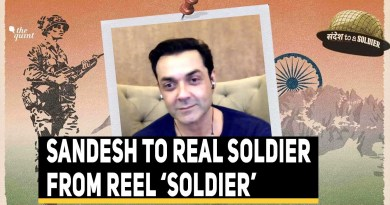 Actor Bobby Deol's Sandesh To A Soldier | The Quint