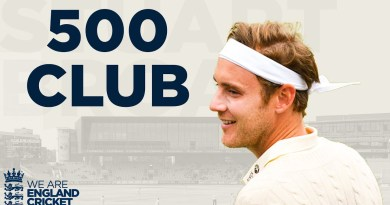 Stuart Broad: 500 Club! | 500th Wicket & Fast-Paced 50! | England v West Indies 3rd Test Highlights