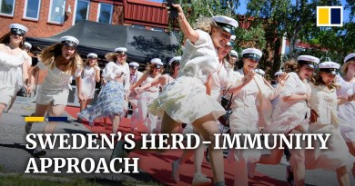 Coronavirus surge in Europe spares Swedes. Does its herd-immunity approach work?