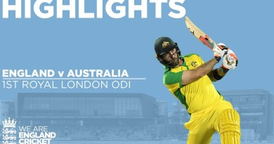 England v Australia – Highlights   Maxwell Hits Stunning Century   3rd Royal London ODI 2020