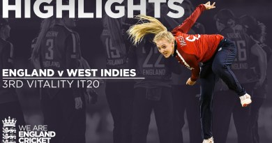England v West Indies – Highlight | Sciver Hits Super 82 From 61 | 3rd Vitality IT20 2020