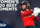 England Women's IT20 Best Moments | Records Broken! | England Cricket