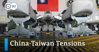 Ongoing threats from China push Taiwan towards the US | DW News