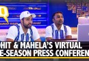 Rohit Sharma and Mumbai Indians' Coach Mahela Jayawardene Speak Ahead of IPL 2020 | The Quint
