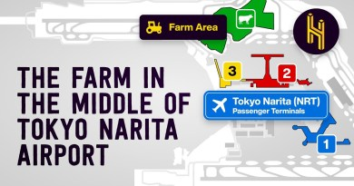 The Farmer That Lives in the Middle of Tokyo Narita Airport