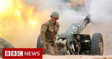 Armenia-Azerbaijan conflict: Azerbaijan president vows to fight on – BBC News
