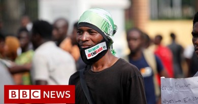 End Sars protests: People 'shot dead' in Lagos, Nigeria – BBC News
