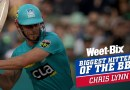 Biggest Hitters of the BBL: Best of Chris Lynn