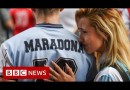 Diego Maradona: Thousands mourn football icon – BBC News