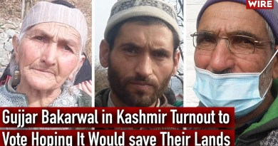 Gujjar Bakarwal in Kashmir Turnout to Vote Hoping It Would save Their Lands