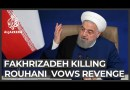 Rouhani accuses 'mercenary' Israel of killing top Iran scientist