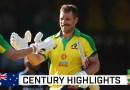 Skipper Finch returns to form to punish India | Dettol ODI Series 2020