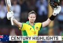 Smith clubs third fastest men's ODI ton by an Aussie | Dettol ODI Series 2020