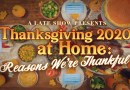 Thanksgiving 2020 At Home: Reasons We're Thankful
