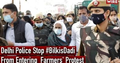 Delhi Police Stop #BilkisDadi From Entering Farmers' Protest