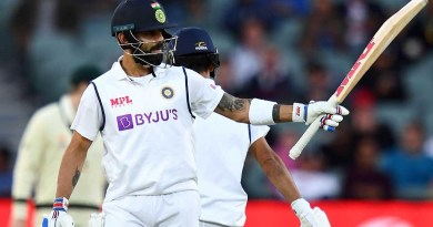 Kohli continues Adelaide love affair before horror run-out | Vodafone Test Series 2020-21