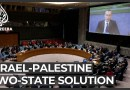 Outgoing UN Middle East official warns two-state solution fading