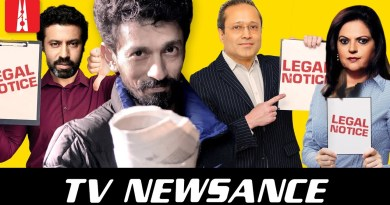 Sakal Times and Times Now send legal notices to Newslaundry | TV Newsance Episode 114